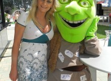 Radka a Shrek